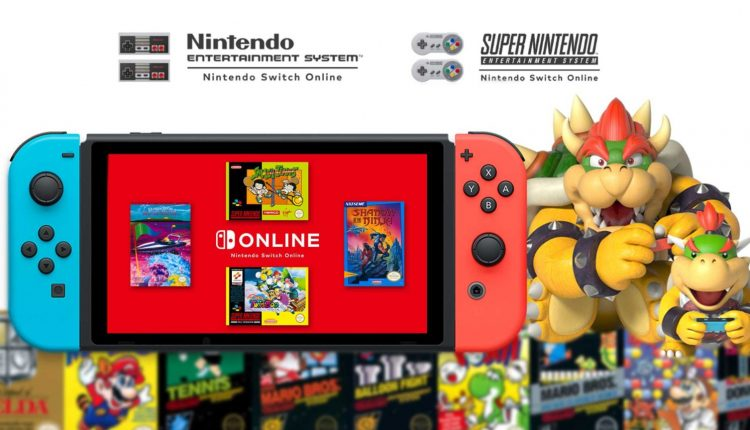 New retro games for Nintendo Switch Online