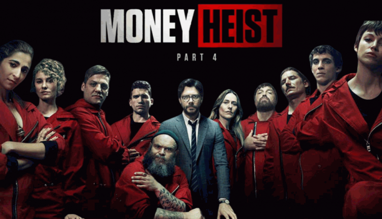 "Only a few more days: ""Money Heist""House of Money Part 4"