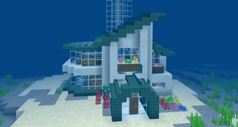 Unique Minecraft House ideas 2020 | Minecraft House Tutorial 7