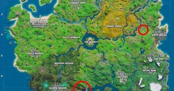 Fortnite: Camp Cod, Golden Pipe Wrench, Hydro 16 and Greasy Graves Locations 5