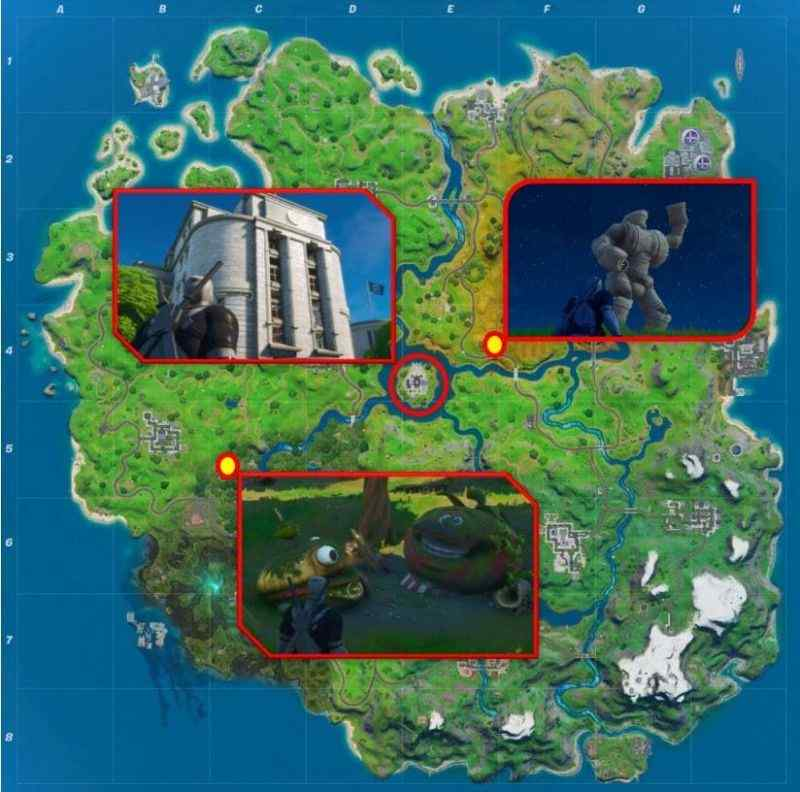 Fortnite: Camp Cod, Golden Pipe Wrench, Hydro 16 and Greasy Graves Locations 4