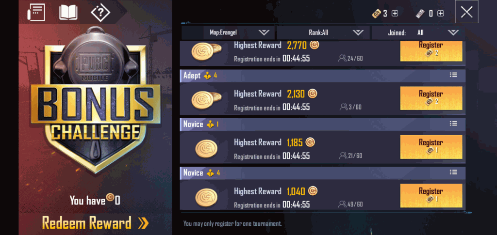 How To Earn free 1800 UC with Bonus Challenge in PUBG Mobile 2
