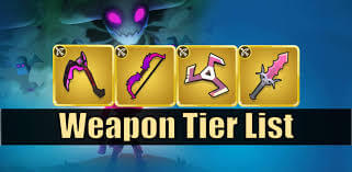 Archero best weapon Tier List 1