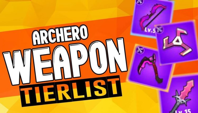 Archero best weapon Tier List
