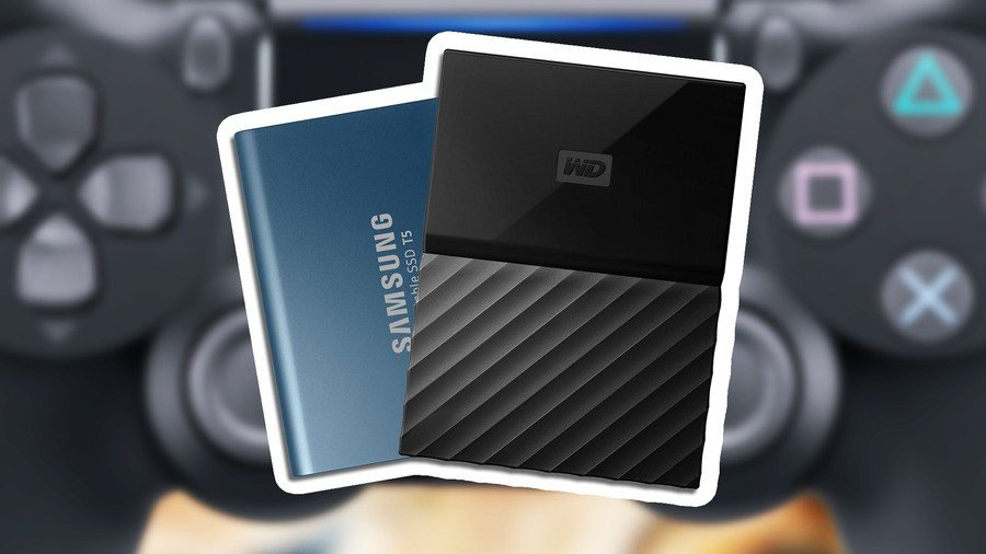 Best external hard drives for PS5 and PS4