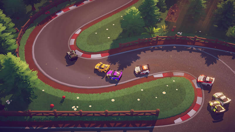 Circuit Superstars has left Early Access, now available